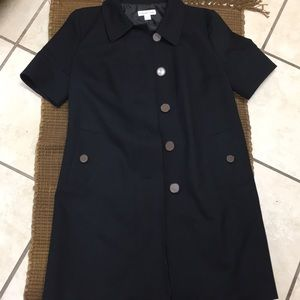 Cold water creek short sleeve trench coat